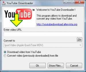 YouTube Downloader - Baixa e Converte vídeos