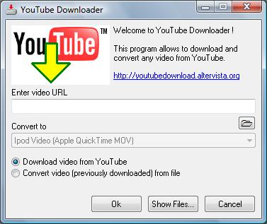 YouTube Downloader - Baixa e Converte vídeos