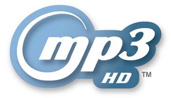 Logotipo mp3-hd