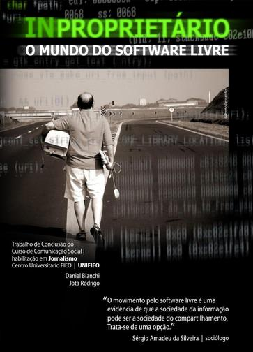 Capa do filme: InProprietário - O mundo do Software Livre