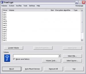 Criptografia de dados com TrueCrypt