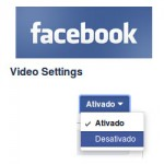 facebook vídeo settings