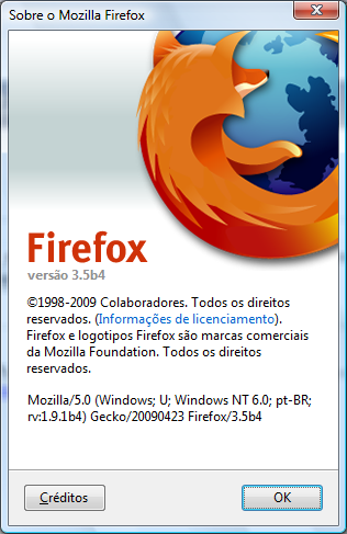 Mozilla Firefox 3.5 Preview