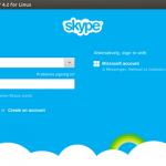 Skype 4.3 - Novo visual para Linux