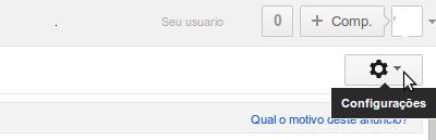 """Configurar outros e-mails no Gmail"""" alt=""""Configurar outros e-mails no Gmail"""