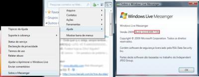 Versão Messenger 2009