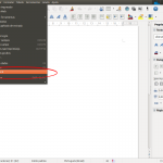 Barra Lateral do Libreoffice no Ubuntu - Imagem 1