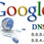 Números dos servidores de DNS do Google