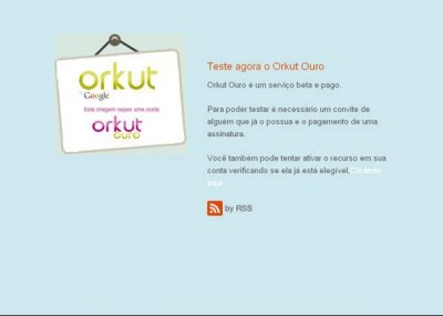 Orkut Ouro é golpe
