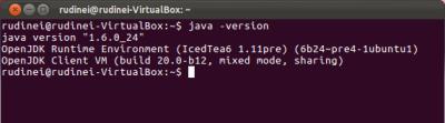 Versão Java Comunidade Ubuntu