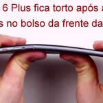 iPhone 6 Plus fica torto