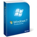 Caixas das Licenças do Windows 7