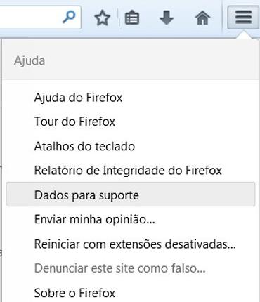Restaurando as configurações originais de Firefox