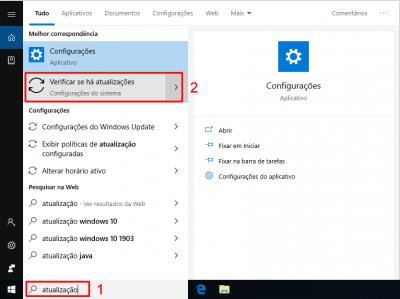 Baixar atualização Windows 10