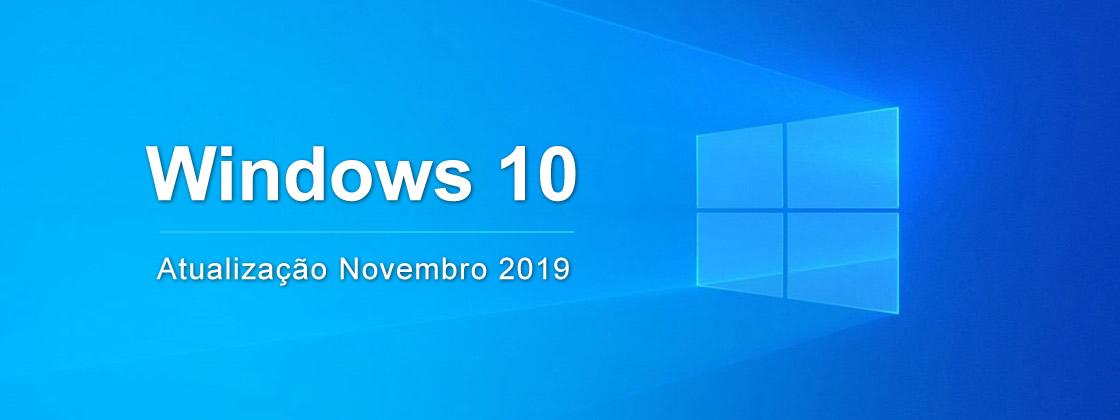 Atualização do Windows 10 1909