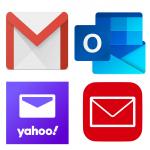 Remetentes confiáveis aplicativos de e-mail