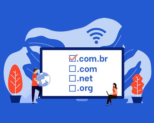 Registro de novos domínios .BR